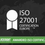 Blacknight ISO27001 award